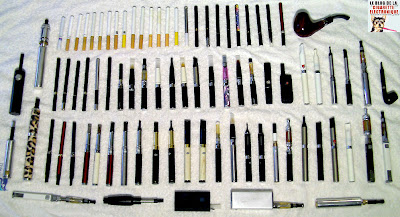 Cigarette electronique : ma collection