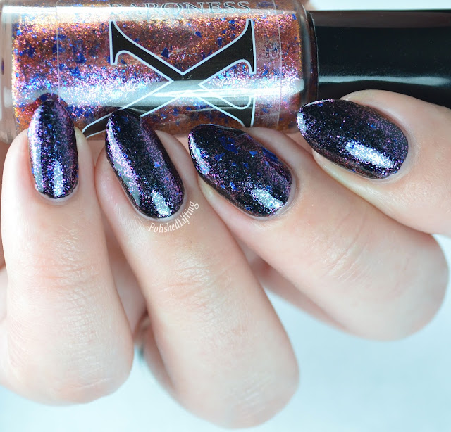 Baroness X Surrealistic over Orly Liquid Vinyl