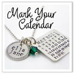 The original hand stamped <br>and personalized calendar jewelry collection!