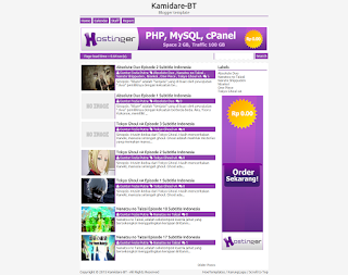 Kamidare Blogger Template