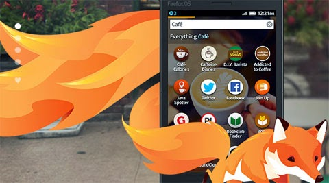 cheapest smartphone running firefox in india