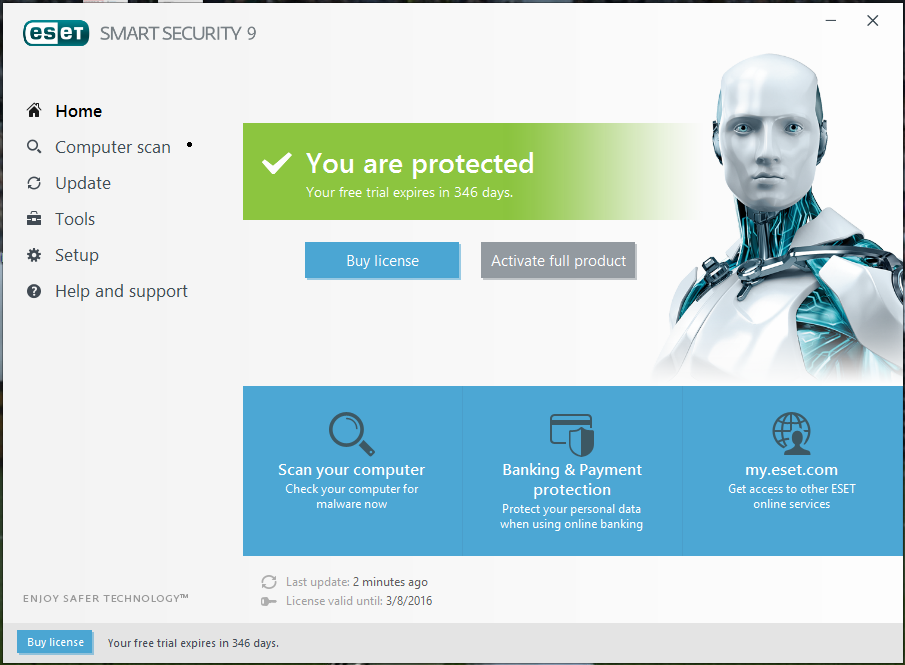ESET NOD32 Antivirus 2018 Crack + Serial Key Free Download