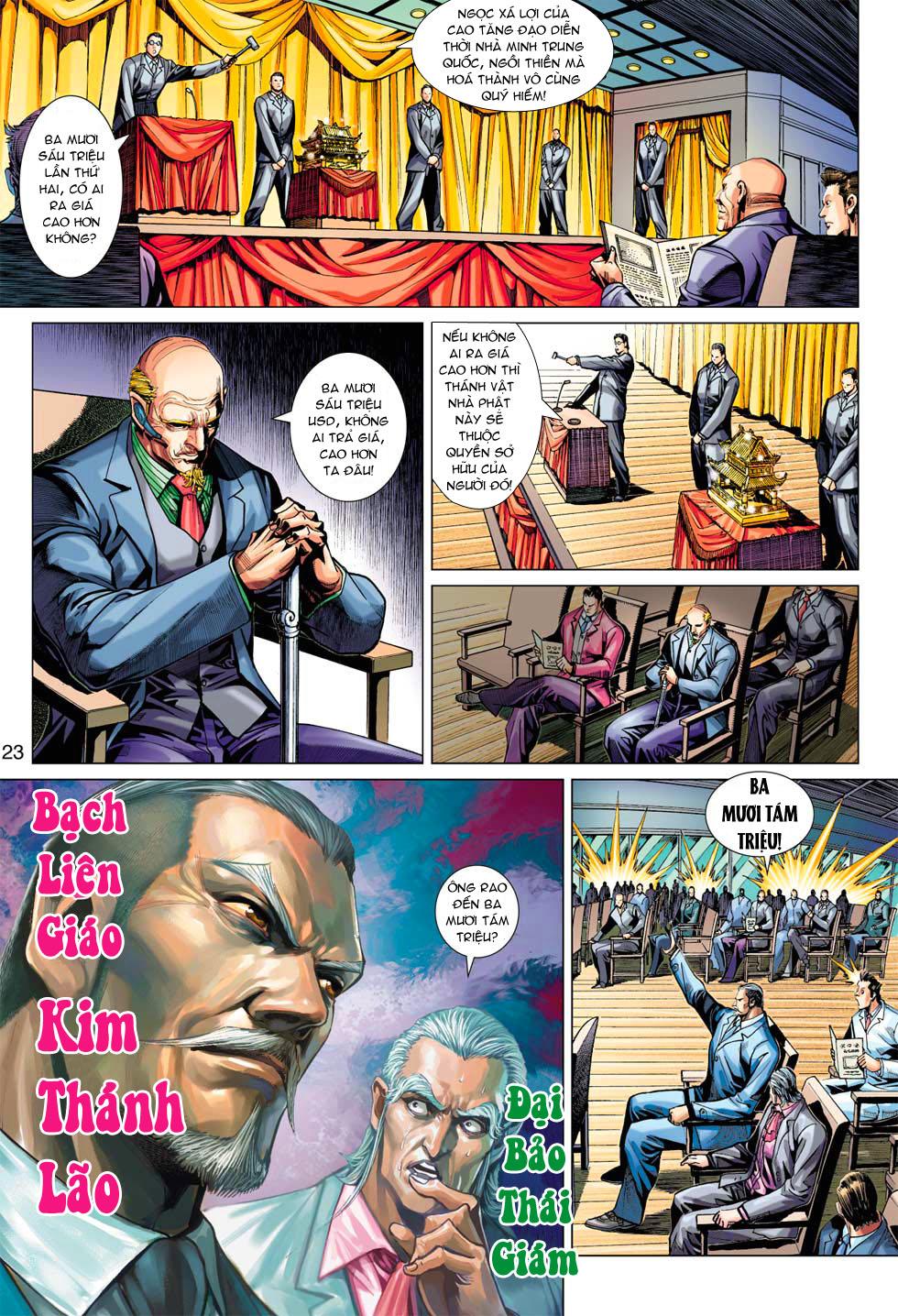 Tân Tác Long Hổ Môn chap 369 - Trang 23