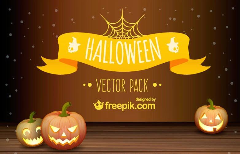 Paquete de vectores de Halloween gratis