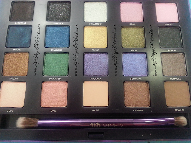 Urban Decay - Vice 2 Palette - Shadows