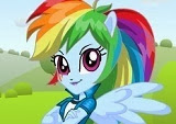 Equestria Girls Rainbow Dash dressup