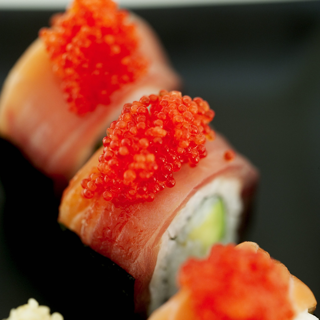 The ut tyler student blog japan a culinary enrichment for Fish eggs on sushi
