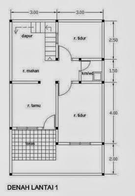 desain rumah minimalis 2 lantai type 21 kumpulan gambar