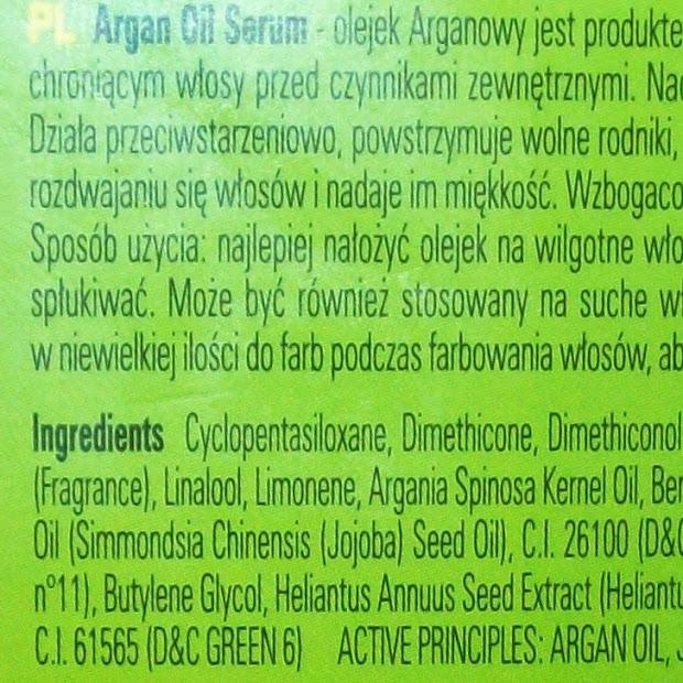Recenzja- Argan Oil GreenElixir