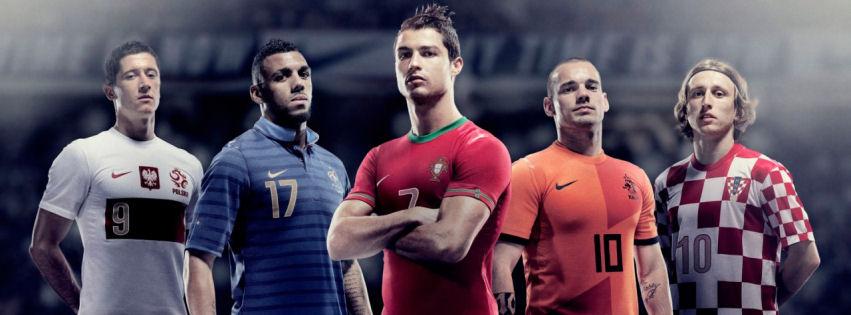 Euro 2012 teams facebook cover