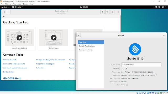 Install Ubuntu Gnome 15.10 On Windows 10/Virtualbox