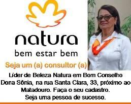 Venha ser um Consultor ou Consultora Natura.