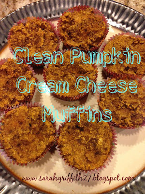 thanksgiving, fall desserts, fixate, healthy desserts, pumpkin muffins, pumpkin cream cheese muffins, sarah griffith, elite beachbody coach,