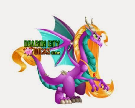 Dragão Rapunzel