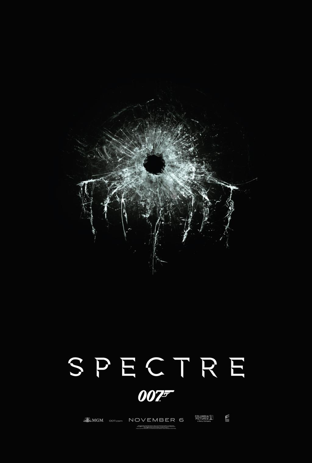 Bond 24 Spectre Official One Sheet Poster