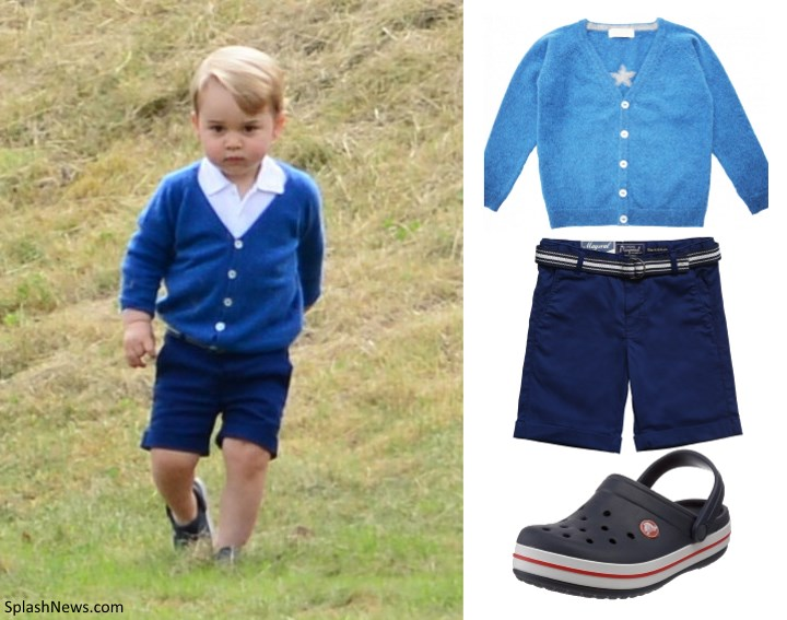 Duchess Kate: Kate Takes Prince George to Watch William ...