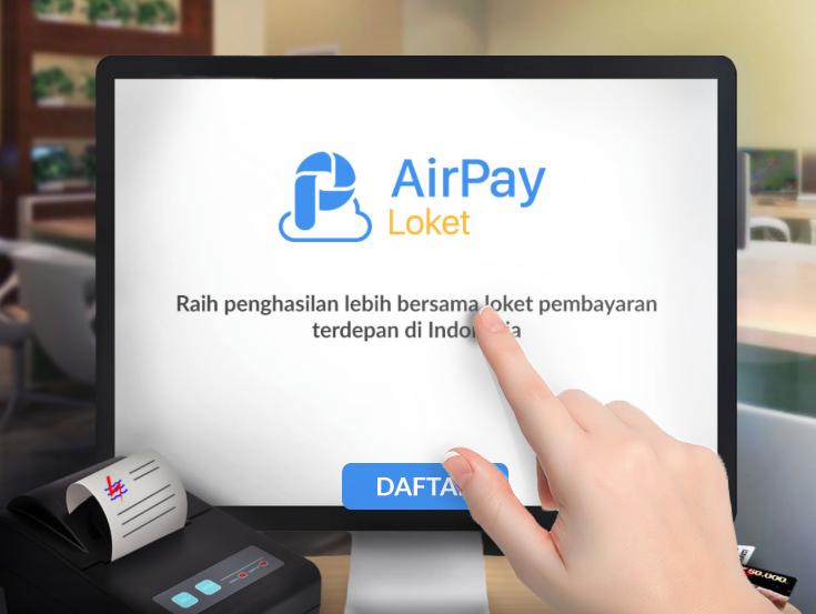 Cara Daftar AirPay Loket Garena Indonesia