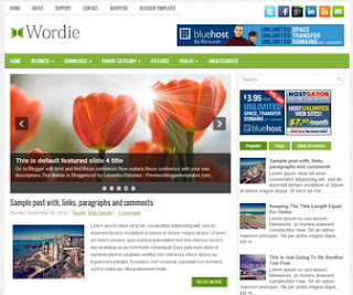Wordie blogger template
