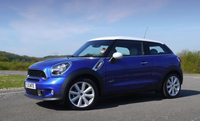 Mini Paceman Cooper SD side view