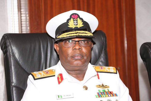Chief of Naval Staff (CNS), Vice Admiral Ibok Ekwe-Ibas