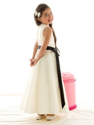 Iridescent+Taffeta+Flower+Girl+Dress