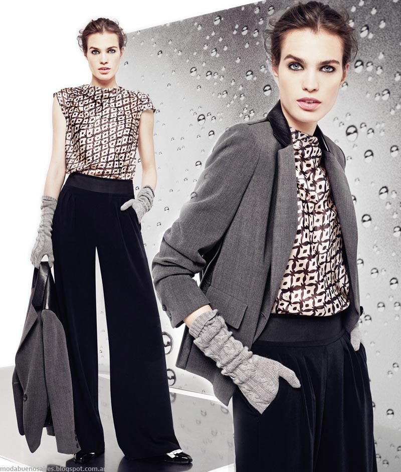 Moda Invierno 2014. Graciela Naum colección otoño invierno 2014 ropa de mujer.