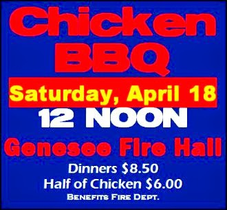 4-18 Chicken BBQ, Genesee FD