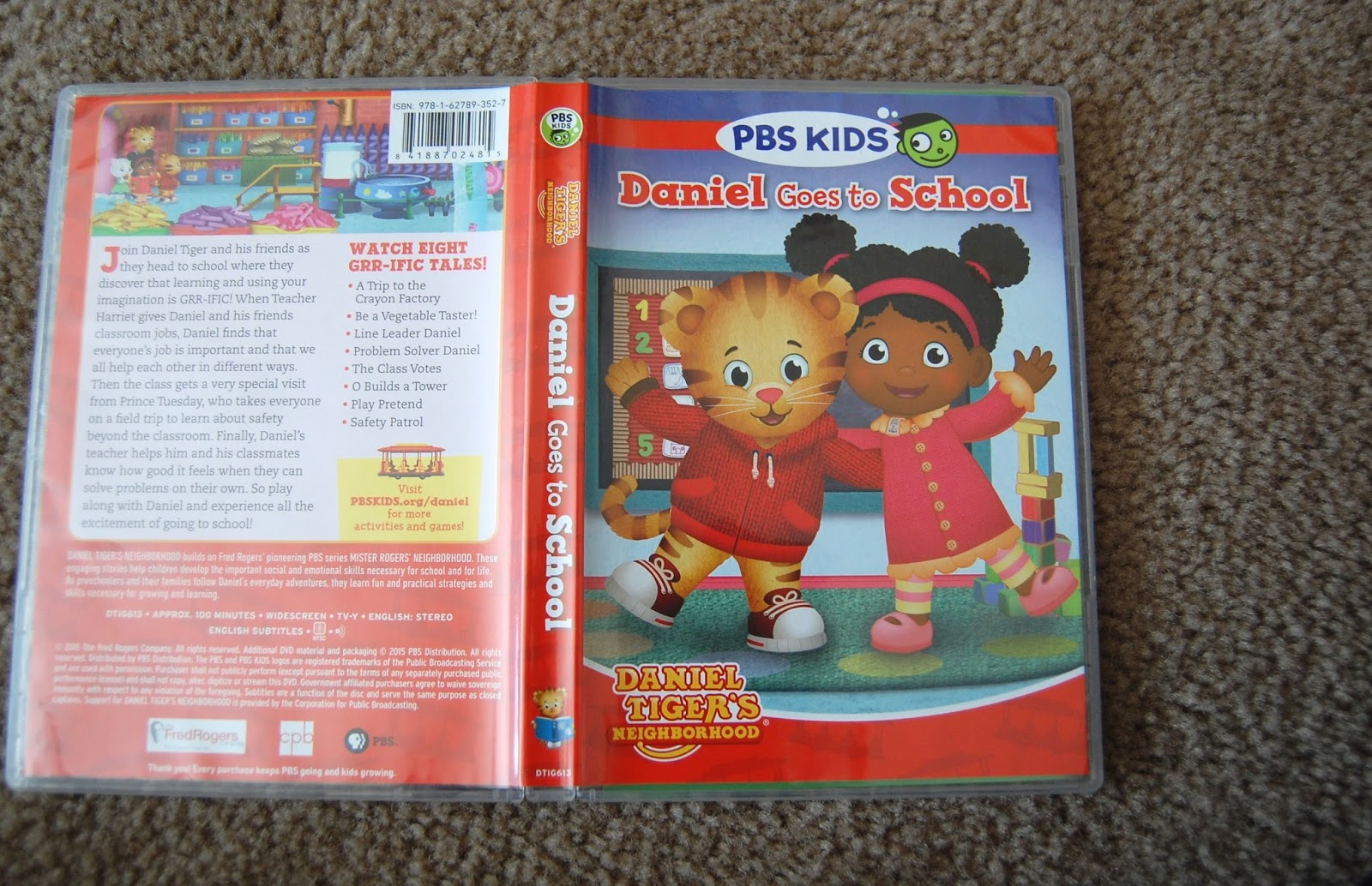Airing My Laundry, One Post At A Time...: Daniel Tiger Goes To ...