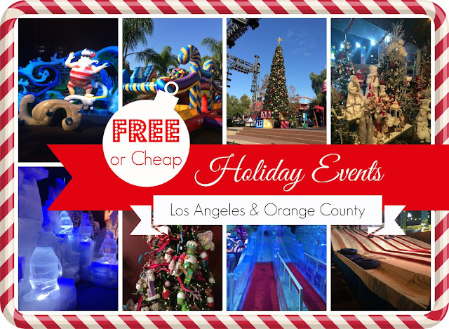 Cheap and free holiday events los angeles and orange for Fun things to do for christmas party