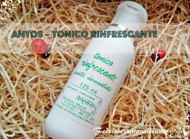 Antos: tonico rinfrescante