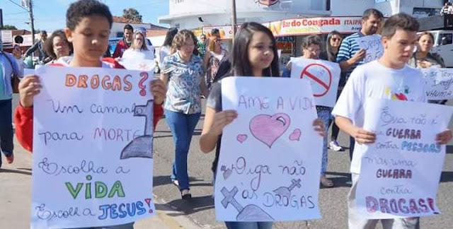 IAM e JM de Mogi Guaçu (SP) participa da Marcha para a Sobriedade
