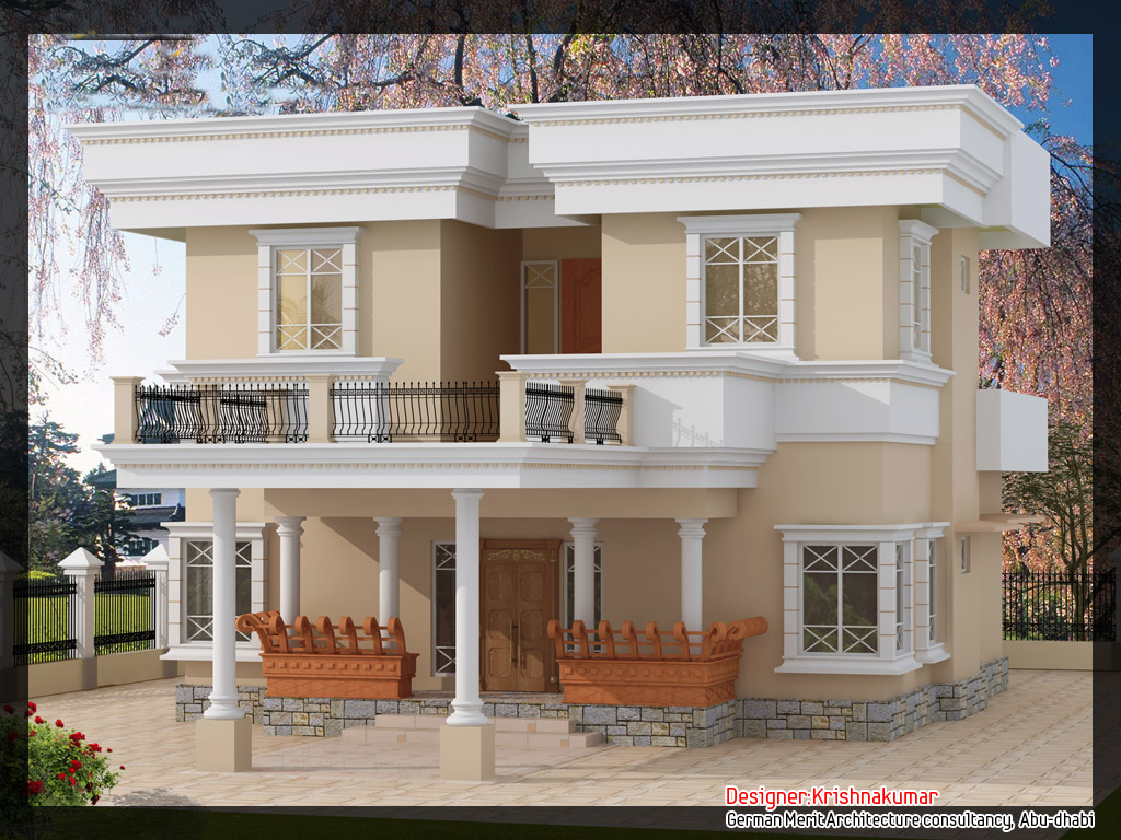 Simple Front Elevation House