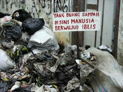 Jangan Buang Sampah Sembarangan