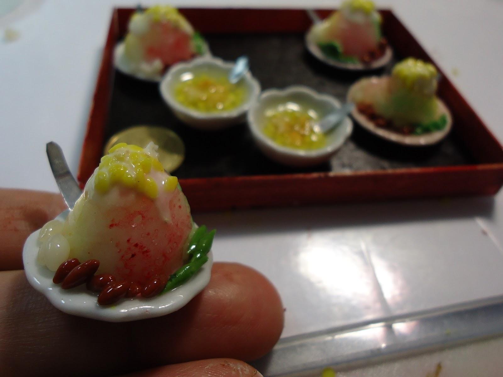 Kin 39 Miniature Workshop Handmade Clay Food By Kin Quek