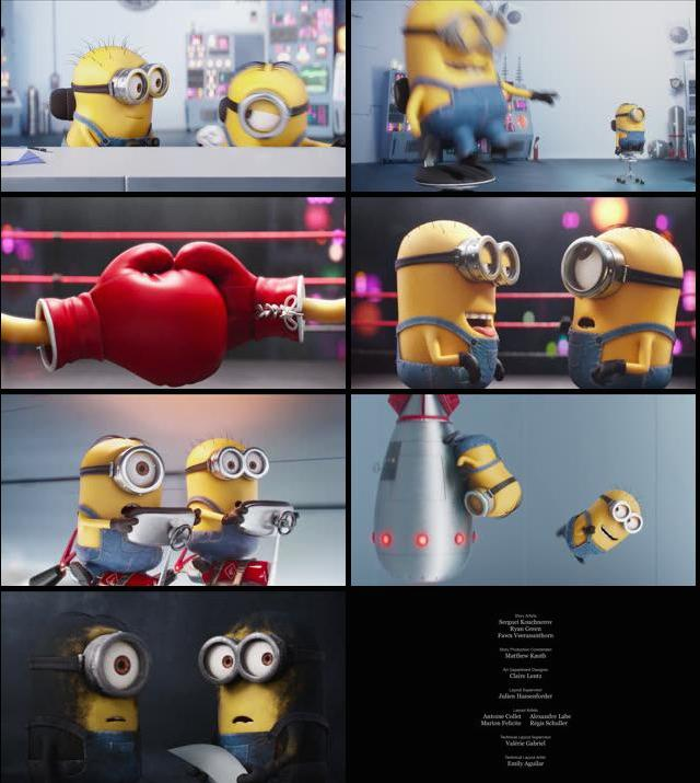 Minions Competition Mini Movie 2015 BluRay 720p