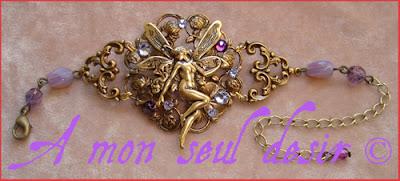 bracelet fée elfe féerique elfe bijou fairy elven bracelet jewel