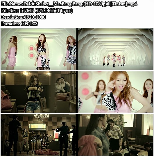 Download MV Dal Shabet - Mr. Bang Bang (Full HD 1080p)