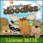Scrappin Doodles Clip Art License