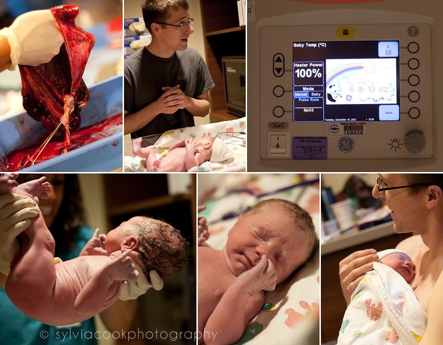 Seattle birth photography