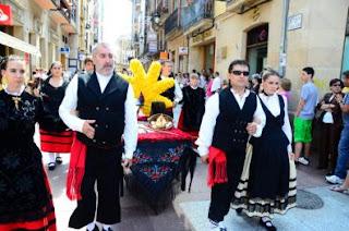 Domingo de Calderas en las fiestas de San Juan en Soria