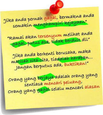 Kata-Kata Semangat buat Diri, Teman dan Kita