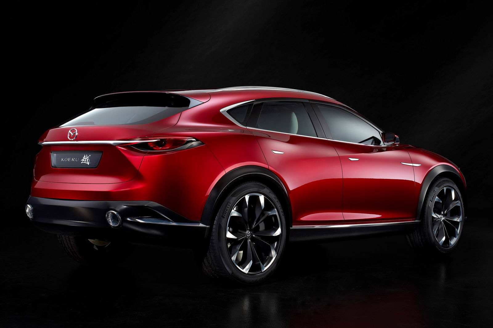 mazda koeru concept previews upcoming cx 7 suv carscoops. Black Bedroom Furniture Sets. Home Design Ideas