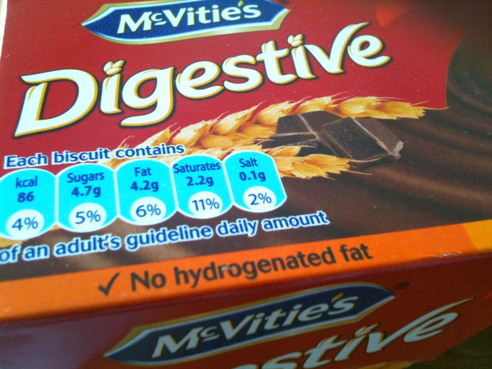 McVities Dark Chocolate Digestives