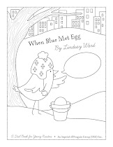 When Blue Met Egg Coloring Sheet