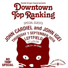9/1 (Thu) Downtown Top Ranking w John Cardiel and John Igei at Left Field