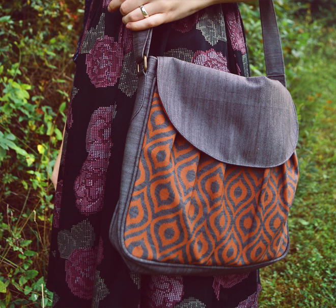 ikat bag by malia designs