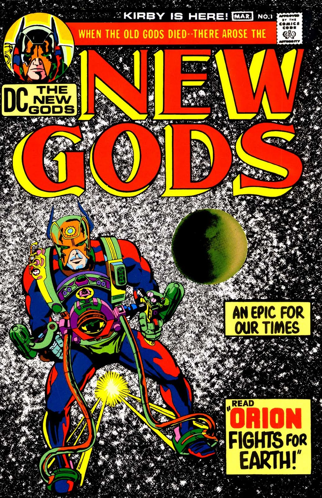 What was the Best Decade Overall for Comics in the Last Century? NewGods1-00