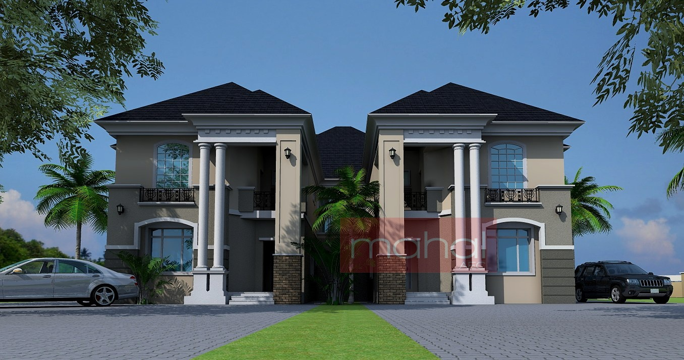 Contemporary nigerian residential architecture luxury 4 for Nigerian architectural home designs