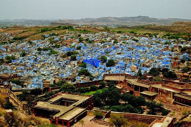 World's 10 most colorful cities - Jodhpur, India picture