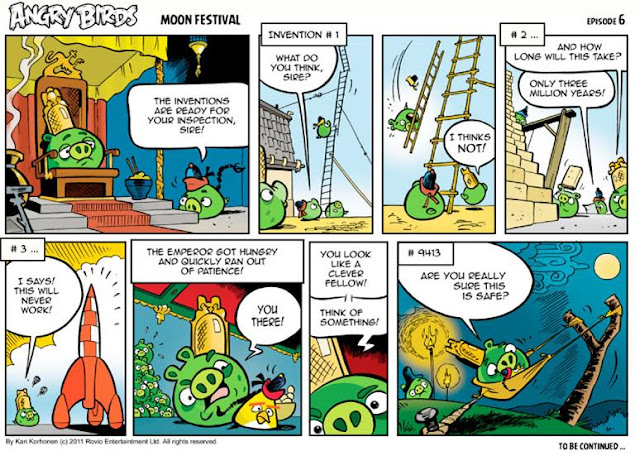 Angry Birds Seasons Moon Festival Comic Series – Episode 6